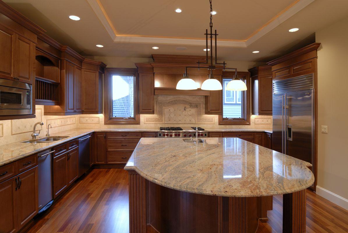 Blaty granitowe w nowoczesnej kuchni Rzeszów