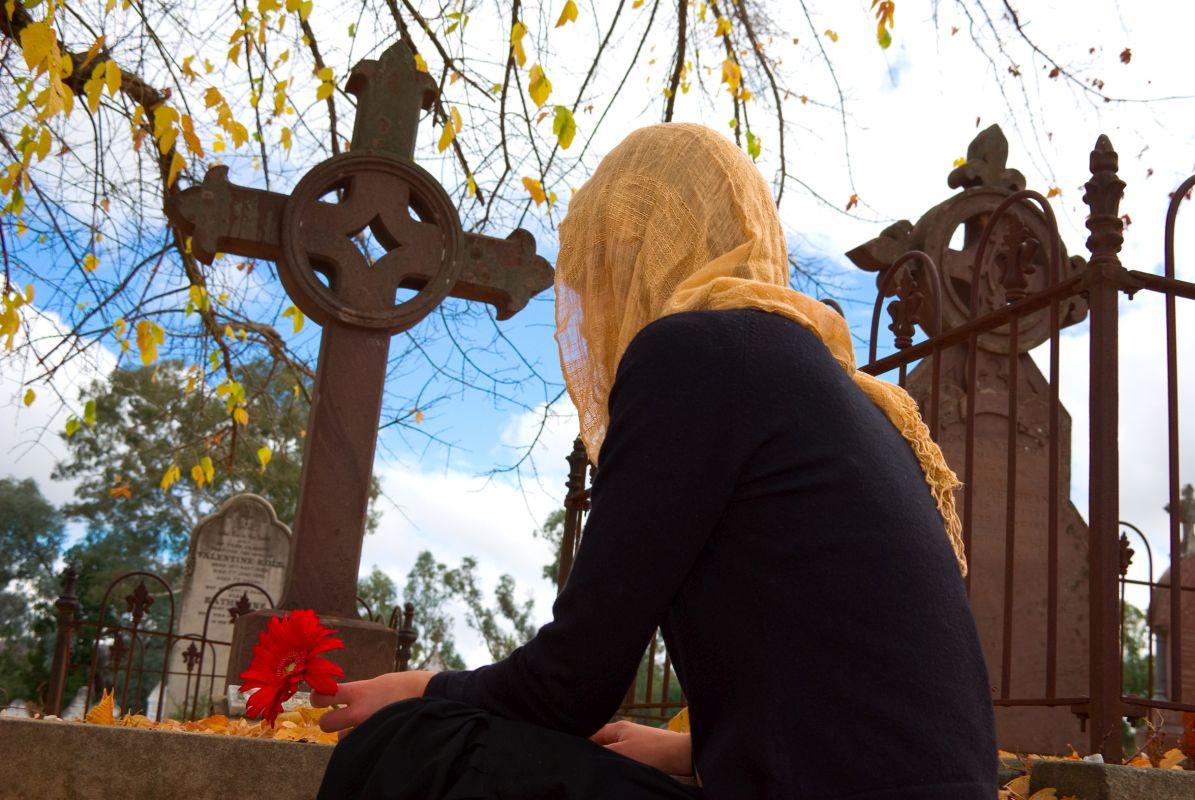 Pomniki i krzyże na cmentarzu Rzeszów