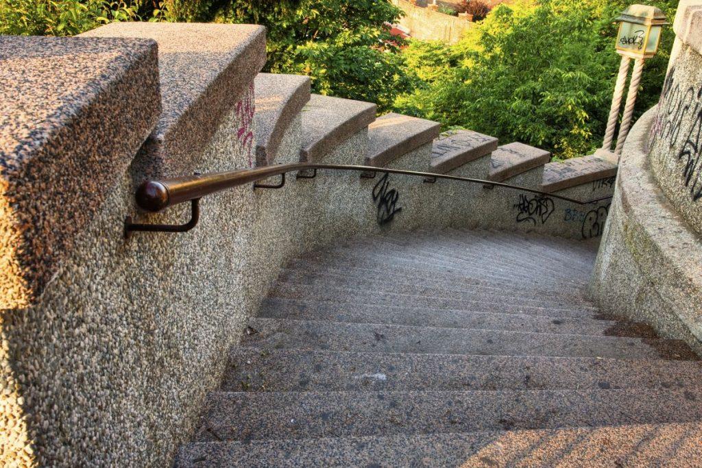 Schody granitowe zewnętrzne Rzeszów